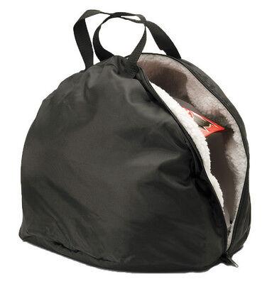 Lunatic Premium Helmet Bag - Soft Pile Lining - Black 2