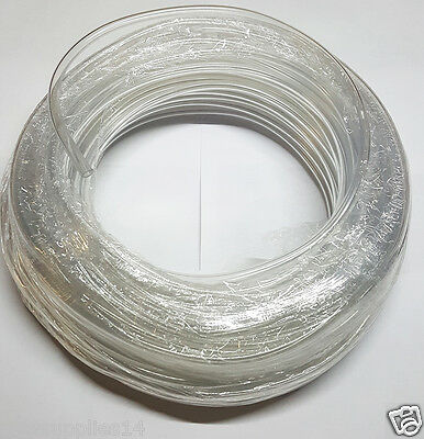 Clear 4mm Air Line Aquarium/Fish Tank/Pond Air Pump PVC Tube Hose Pipe UK Made 2