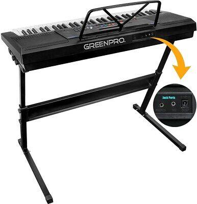GreenPro 61 Key Portable Electronic Piano Keyboard LED Display 2
