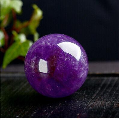 1Pc Natural Amethyst Quartz Stone Sphere Crystal Fluorite Ball Healing Gemstone 2