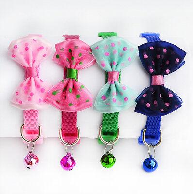 Pet Puppy Kitten Dog Cat New Adjustable Collar Necktie Grooming Suit Bow Tie 9