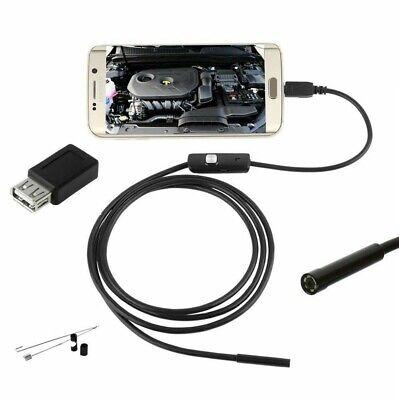 ENDOSCOPIO PER SMARTPHONE ANDROID 5 MT SONDA 7mm 6LED CAVETTO USB E ACCESSORI 2