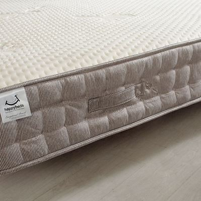 Happy Beds Bamboo Vitality 2000 Pocket Sprung Mattress Handmade Memory Foam 3