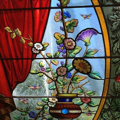 Flower Pot Victorian Aestetic Move Ment Landing Window. 6