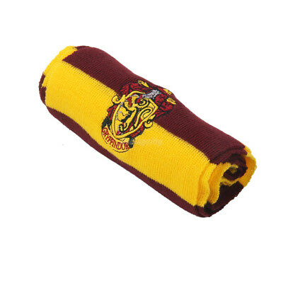 Harry Potter Vouge Gryffindor House Cosplay Knit Wool Costume Scarf Wrap 6