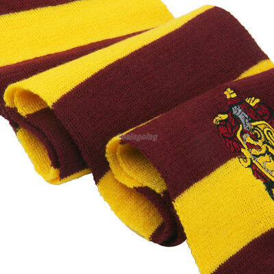 Harry Potter Vouge Gryffindor House Cosplay Knit Wool Costume Scarf Wrap 4