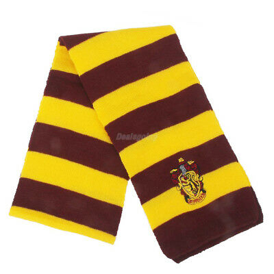 Harry Potter Vouge Gryffindor House Cosplay Knit Wool Costume Scarf Wrap 2