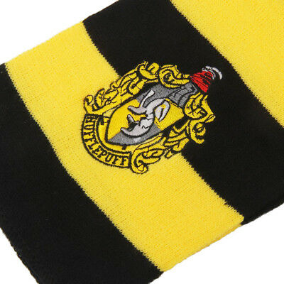 Harry Potter Vouge Hufflepuff House Cosplay Knit Wool Costume Scarf Wrap 7