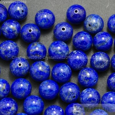 Wholesale Natural Gemstone Round Ball Spacer Loose Beads 4mm 6mm 8mm 10mm 12mm 6