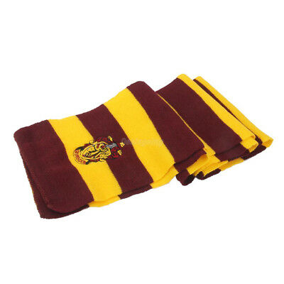 Harry Potter Vouge Gryffindor House Cosplay Knit Wool Costume Scarf Wrap 3