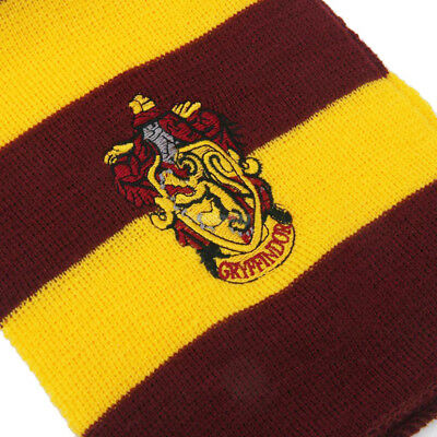 Harry Potter Vouge Gryffindor House Cosplay Knit Wool Costume Scarf Wrap 5