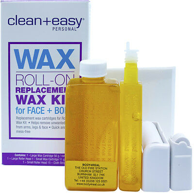 Surgi One Touch Clean Easy Roll On Large Wax Refill Waxing Refills Kit + Strips