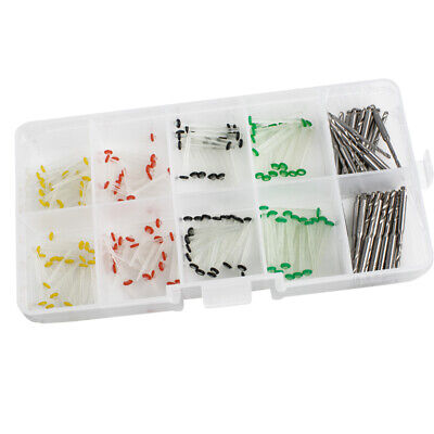 New 160Pc Dental Glass Fiber Post Single Refilled Package & Free For 32pcs Drill 8