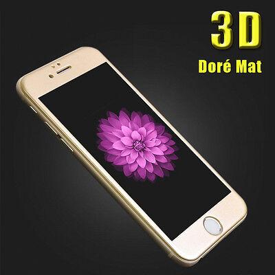 iPhone 6S/6/7/Plus 8/X VITRE EN VERRE TREMPE 3D Film Protection Ecran Intégral 9