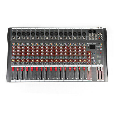 4000 Watt 16 Channel Professional Mixer power Sound mixing Console Audio Live DJ 6