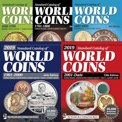 f3e226cea210 ... Catalogo World Coins 2019 Monete Del Mondo Dal 1601 Al 2019 - Originale  Su Dvd 2
