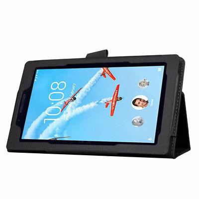 For Lenovo Tab E7 E8 Folding Stand PU Leather Business Heavy Duty Case Cover 4