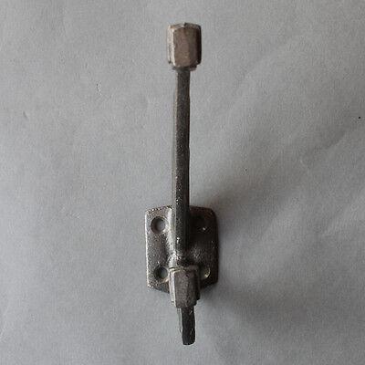 Cast Iron Wall Door Coat Hook Art Deco Antique Vintage Industrial Style - Ch07 2