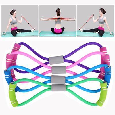 3 sur 6 Fitness Yoga Bandes élastiques latex Gym tube Résistance bande de  formation cd 67dd917e2dd