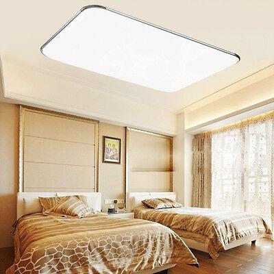 72W LED ULTRASLIM Deckenleuchte Schlafzimmer Deckenlampe Wohnzimmer ...
