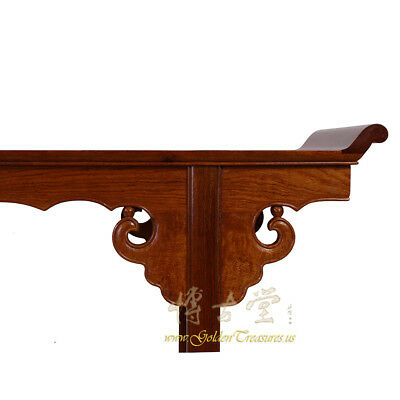 Chinese Vintage Carved Rosewood Altar Table 16LP88 4