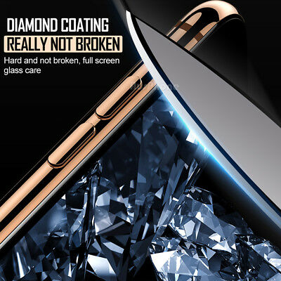 Apple iPhone XS Max XR 8 7 NUGLAS FRONT AND BACK Tempered Glass Screen Protector 5