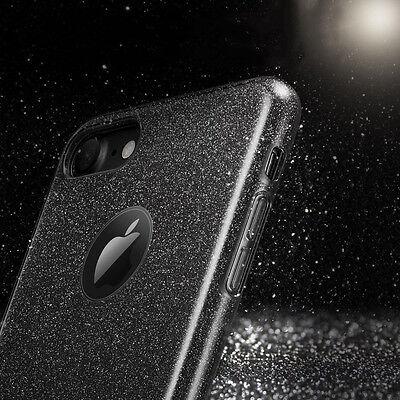 Housse Etui Coque Tpu Avant+Arriere 360° Bling Paillettes Pour Samsung Au Choix 11