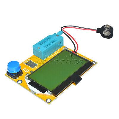 Hrph Nouveau LCR-T4 Mega328 Transistor Tester Diode Triode Capacitance ESR Meter avec Shell