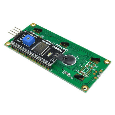 IIC I2C TWI SP​​I Serial Interface 1602 16X2 Character LCD Anzeige Blue AIP 2