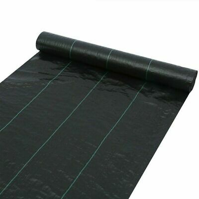 Heavy Duty Fabric Weed Control Membrane Garden Ground Cover Mat Landscape Sheet 9