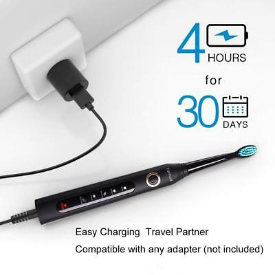 Fairywill 5 Mode Powerful Electric Toothbrush Waterproof 4 Hours USB Fast Charge 6