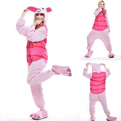 Unisex Adult Winnie The Pooh Flannel Onesie11 Cosplay Costume Kigurumi Pajamas* 5