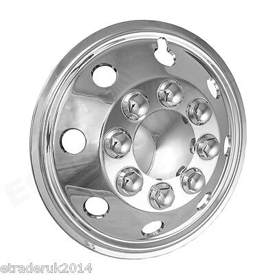 "16"" VW Crafter LT Chrome Wheel Trims Motorhome American Style Hub Caps x 4 2"