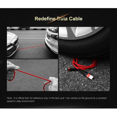 Fast Charging Cable Cord USB-C Type-C 3.1 Nylon Braided Data Sync Charger j-c CA 10