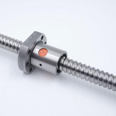 SFU1605 Rolled Ballscrew Ballnut Anti-Backlash 250-1500mm End Machining Coupler 3