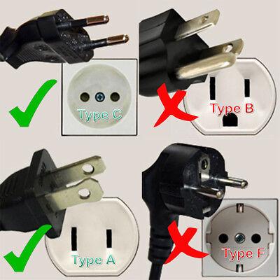 3x USA US EU JAPAN ASIA to AU Australia Plug AC Power Adapter Travel Converter 2