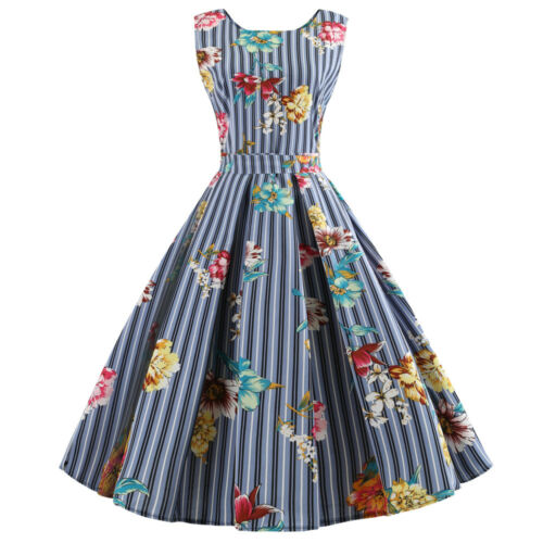 WOMEN VINTAGE 50S 60s Retro Style Rockabilly Pinup Housewife