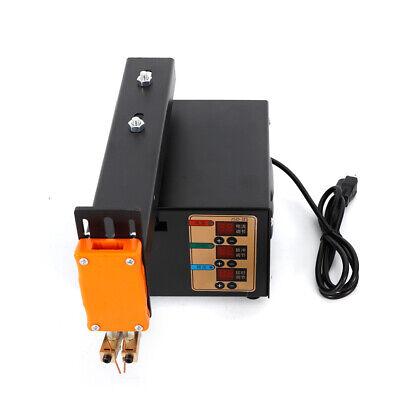 Handheld Battery Pack Spot Welder 3kw Pulse Adjustable Welder Led Light NEW 3