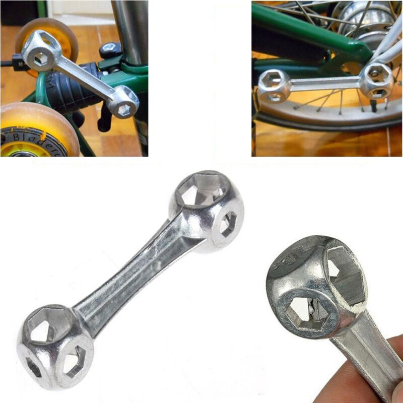 10 In 1 Bike Sechskantschlüssel Knochenform Lock Ringschlüssel