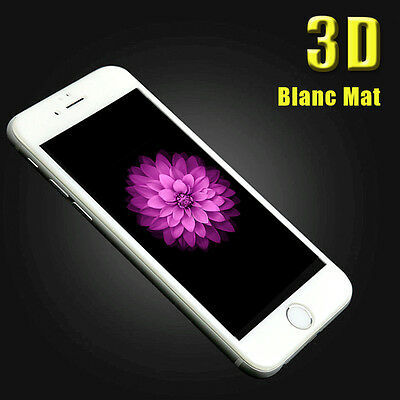 iPhone 6S/6/7/Plus 8/X VITRE EN VERRE TREMPE 3D Film Protection Ecran Intégral 8