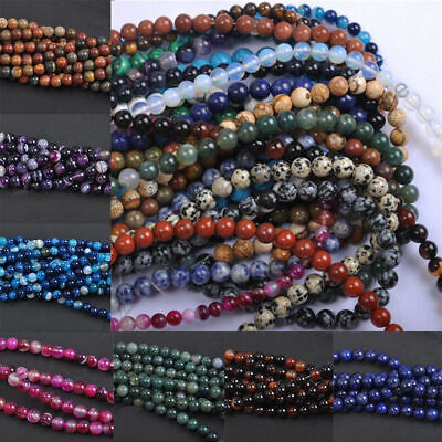Wholesale Natural Gemstone Labaradorite Amethyst Lapis Round Loose Beads Pick 2
