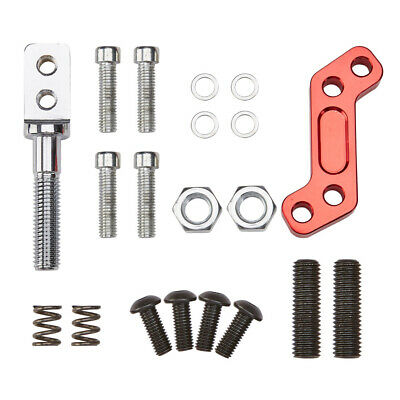 Red Racing Short Throw Quick Shifter Kit For 1989-2003 Ford Mustang T5/T45 Cobra 4