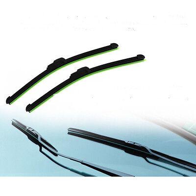 "Useful 22"" Car U-type Frameless Bracketless Rubber Windshield Wiper Blade 2"