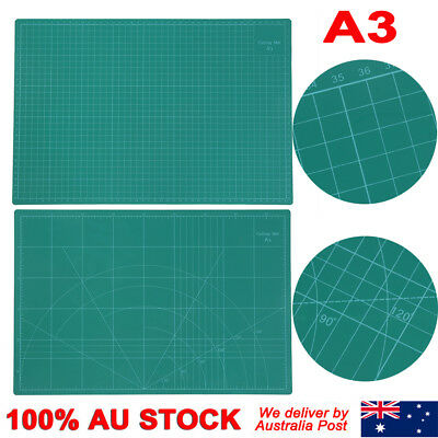 A1 A2 A3 5-Ply Self Healing Cutting Mat Craft DIY Grid Lines 2 Side Thick PVC 4