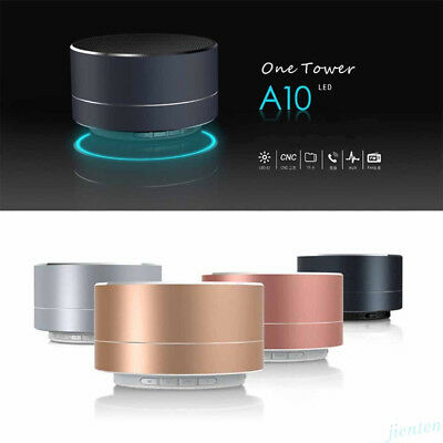 Portable LED Bluetooth Wireless Mini Super Bass Stereo Speaker for iPhone Tablet 2