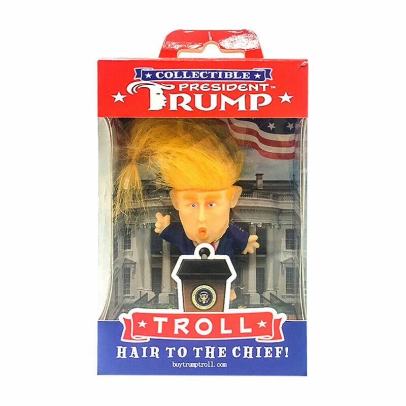 President Donald Trump Collectible Troll Doll Make America Great Again Figure Ak 6