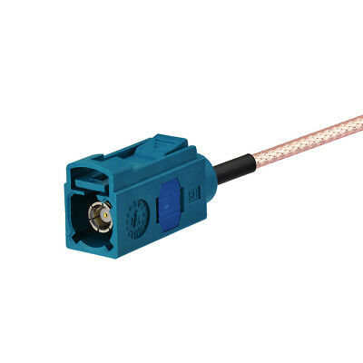 Fakra Z Female to SMA Male RG316 Coaxial Pigtail Cable 15cm 2