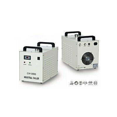 AC220V 50Hz CW-3000AG Industrial Water Chiller for 60W/80W CO2 Glass Laser Tube