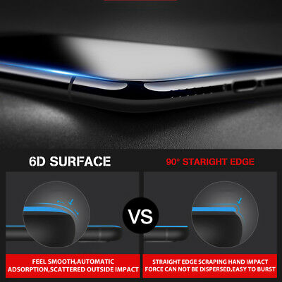 2x 6D Full Phone 11 Pro XS Max XR 8 7 Plus Screen Protector Tempered Glass Apple 9