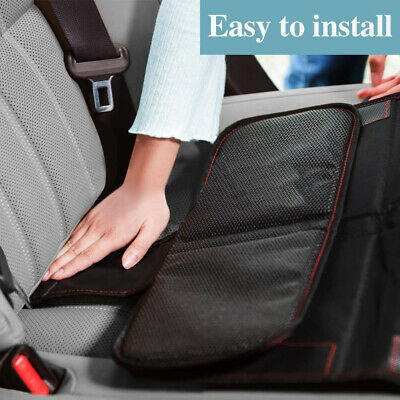 Car Seat Protector Thickest Padded Waterproof Back Seat Organizer Kick Mat Cover 6